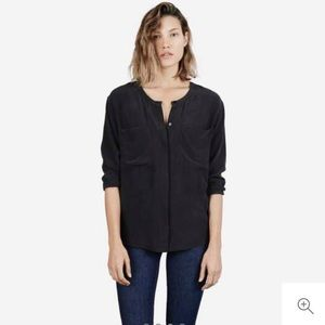 Everlane The Silk Pocket Longsleeve